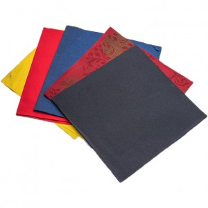 Pure Wood Pulp custom napkins paper disposable thick cocktail napkins Airlaid Napkin For Party Restaurant