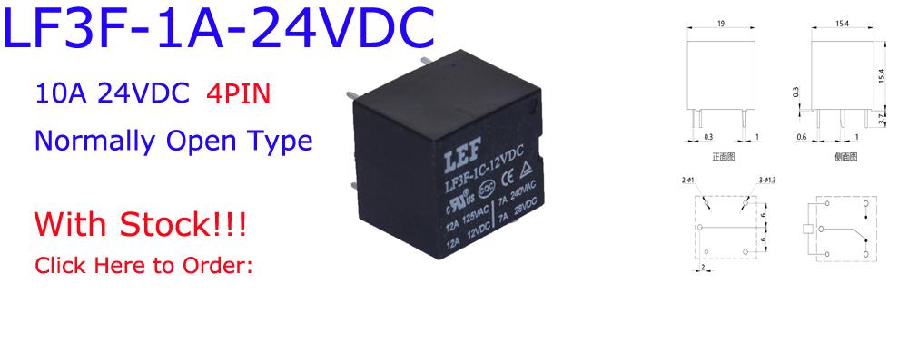 LF3F-1A-24VDC