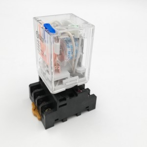 LEF LK3C-L DC12V Auxiliary Relay with led Protected relays