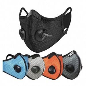Fashion Sport Face Cycling Maskes With Valve,low filter price