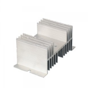 LEF LSRS-025 Thick radiator Black and white aluminum heat sink