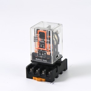 RMK2P Power relay 10A 24VDC Round PIN 8PIN relay
