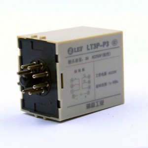 Competitive price LEF LT3P-P3 3A 220V 99sec 0-999 time setting range power on delay
