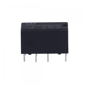 Original industrial grade auto pcb relay LF4078 with CE ROHS UL