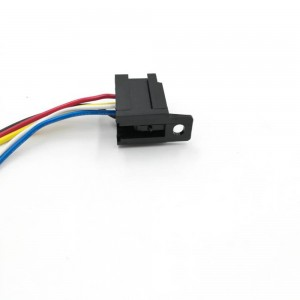 LEF LCRS06F RELAY SOCKET WITH WIRES