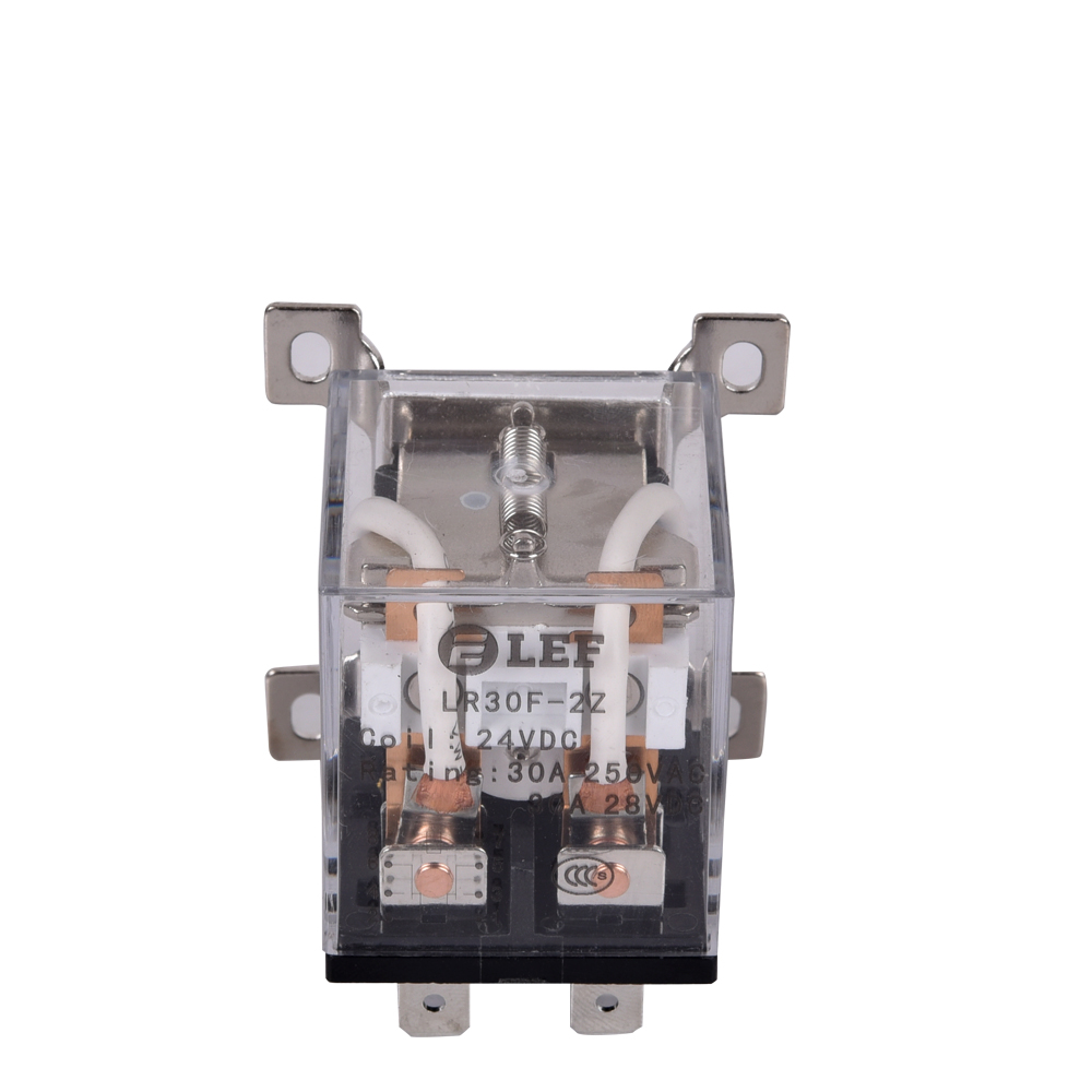 JQX-30F power relay 30A DPDT 12VDC 24VDC 220VAC Featured Image