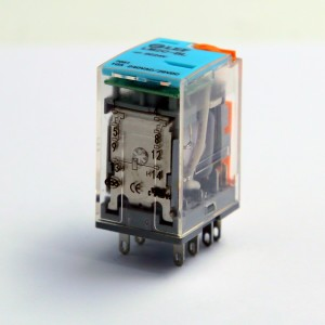 LEF IMPROVED RELAY AC/DC6V-220V LM2C-BL RELAY WITH SWITCH+LAMP RELAY