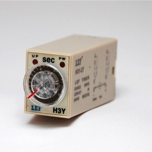 Cost effective LEF H3Y-2  60sec 0-60 second power on delay timer relay from Relay -international
