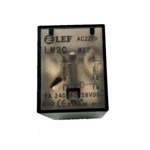 LEF AC/DC110V /AC220V factory price LM2C-P FOR PCB INSTALLATION RELAY TOP SALES
