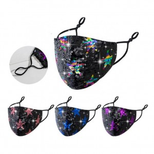 Face Sequined Star Maskes