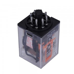 LEF High-quality MK2P LK2C AC coil Power Relay general purpose DPDT relay electromagnetic relay+Socket Base