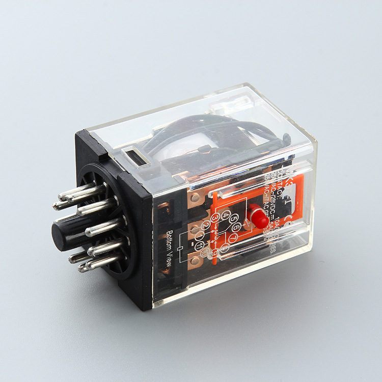 RMK3P Round PIN 10A general purchase power relay 220VAC with socket 11PIN MK3P Featured Image