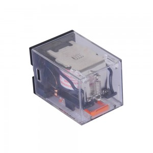 LEF 7A 10A General Purpose Relay 8Pin 250VAC Power Relay with Lockable Test Button Relays