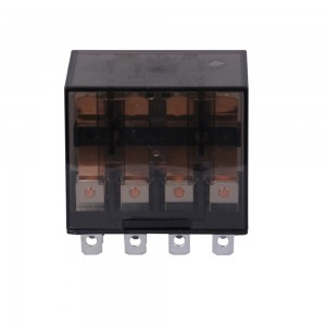 Max 10 amps dc6V and ac220V general purpose relay with four contacts from China supplier