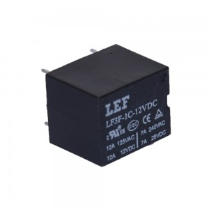 T73 PCB relay LF3F SPDT SPST 10A small relay suger cube relay ice cube