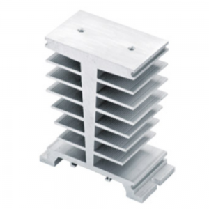 LEF LSRS-040 Aluminum Heat Sink for Solid State Relay SSR 100A 120A Heat Dissipation Single Phase SSR Heatsink