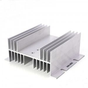 heat sink for ssr 25-40A radiator 125*70*50mm