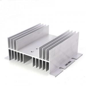 heat sink for ssr 25-40A radiator 125*70*50mm