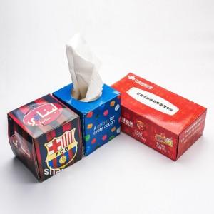 hot sale soft sanitary box facial tissue paper