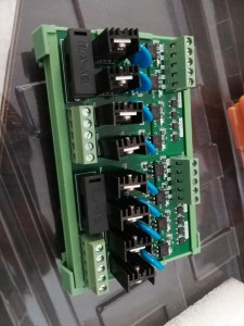AC amplifier board 12-24VDC PNP/NPN Signal 12-240VAC load