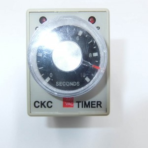 Intelligent industrial LEF 1pcs AH3-3 AC 220V 3Min 180S power on delay Timer Time Relay 220VAC 3M 0-3 Minute