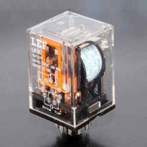 LEF 3Z DC 12V 10A DPDT General Purpose Power Relay China Top Selling relays 8 Pin Round Power Relay