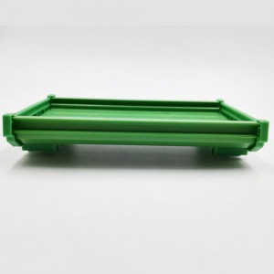 LEF PCB length133mm profile panel mounting base PCB housing PCB DIN Rail mounting adapter PCB carrier