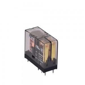LEF LF14F-2C DC6V-24V Transparent shell RELAY PCB RELAY