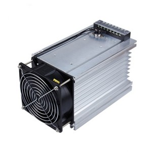 heat sink with Fan for solid state relay module radiator