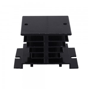 Heat sink 50*80*50MM Aluminum Heatsink Radiator Cooler Cooling 2 Times  for solid state relay