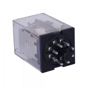 LEF LK2C Voltage PCB Power Relay 8 Pins DIN Rail DPDT 2NO 2NC Coil AC 220V/230V MK2P-1