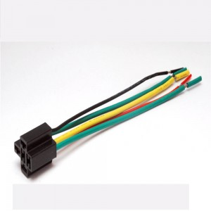 Auto relay base 15cm 40A 80A load 5 wires for JD1912 JD2912 car relay