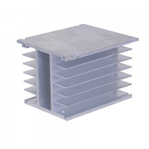 LEF 110*100*80mm Aluminum heatsink heat sink superconductive radiator For Solid State Relay