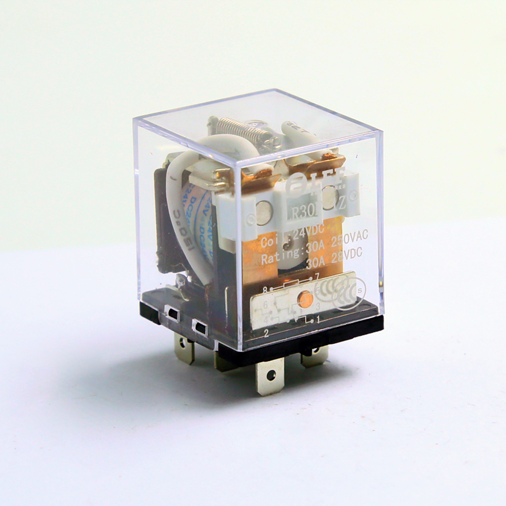 Durable quality high power relay with max 30 amps 2 A and 2B and 2C contacts Featured Image