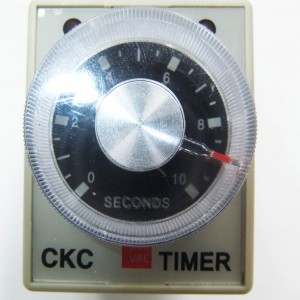 High cost performance LEF ac 220V delay timer time relay seconds 0 60 Minutes AH3-3