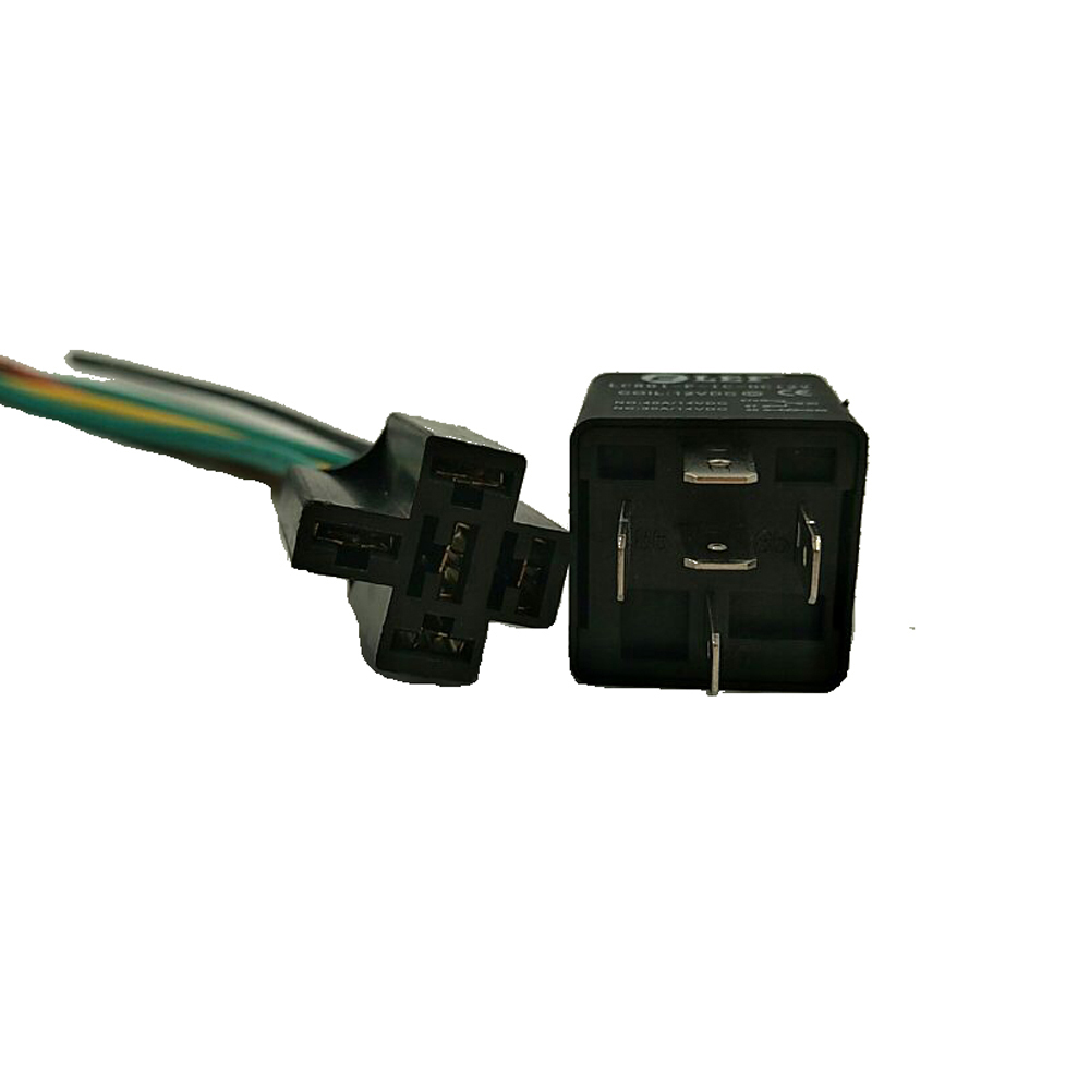 Lef 40 Amp Automotive Waterproof Relay Switch Set Heavy Duty 12 Awg Micro 12v Spdt 20 Wire Harness Dc