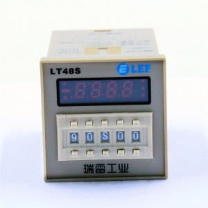 High quality LT48S 1Z 2Z and cycle time relay / timer with socket (AC 220V 110V 380V 36V DC/AC 24V 12V alternative