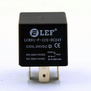 LEF LCR01F-1A 4PIN 40A AUTOMOBILE RELAY JD1914 JD1912