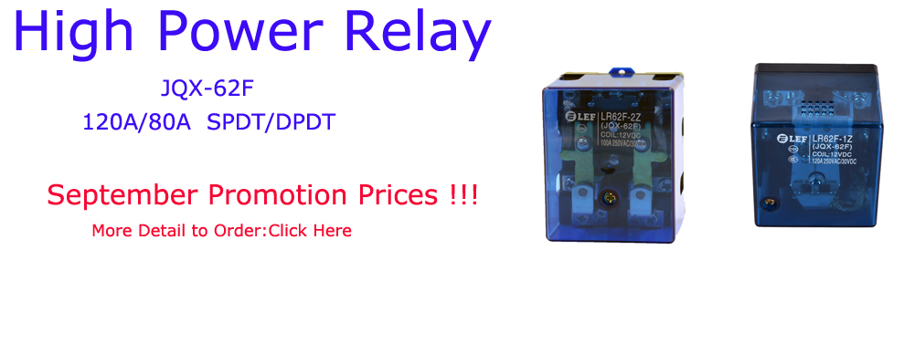 LR62F Power relay