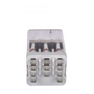 JQX-38F-3Z 3PDT 40A 12VDC 24VDC 220VAC power relay
