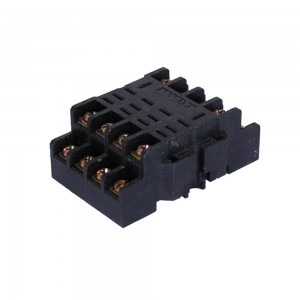 Excellent performance LLS02-14A relay socket for time relay with competitive price