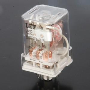 LEF High Sensitive JTX-3Z JQX-3Z 220V10 Pins DPDT General Purpose Relay 3C 3H 3D Silver Alloy Concat Power Relay