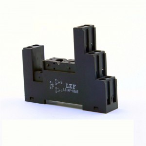 LEF 5 Terminal Mini Relay Socket PCB Relay Bracket Mini Size For JQX14FC LF14F